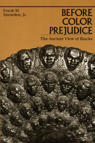 9780674063815: Before Color Prejudice: The Ancient View of Blacks