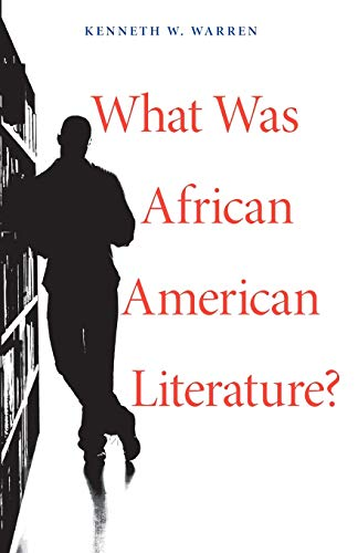 9780674066298: What Was African American Literature? (The W. E. B. Du Bois Lectures)