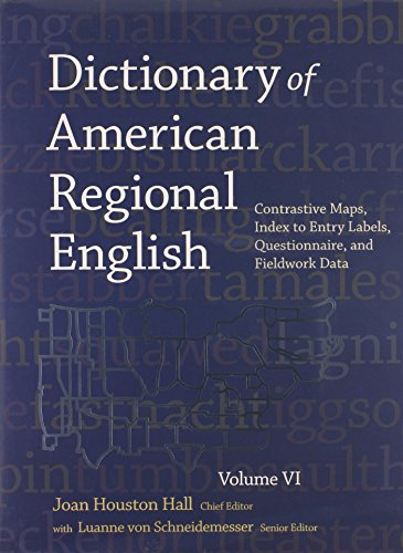 Dictionary of American Regional English: Hall, Joan Houston