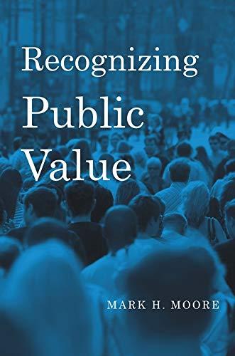 9780674066953: Recognizing Public Value