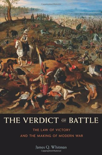9780674067141: The Verdict of Battle: The Law of Victory and the Making of Modern War