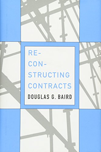 9780674072480: Reconstructing Contracts