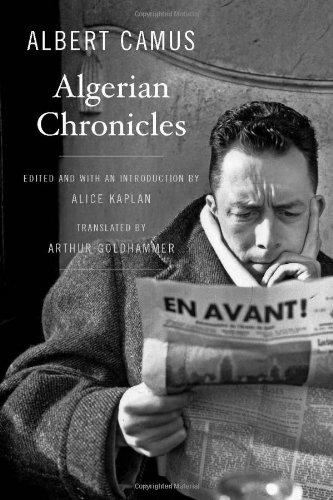 9780674072589: Algerian Chronicles