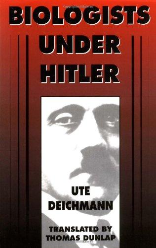 9780674074057: Biologists under Hitler