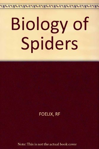 9780674074323: Biology of Spiders