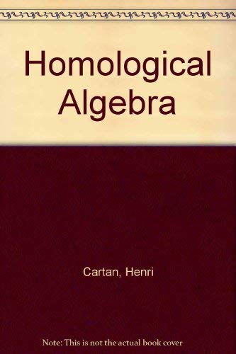 9780674079779: Homological Algebra