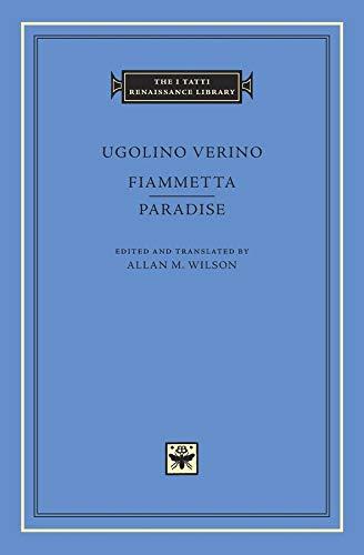 9780674088627: Fiammetta. Paradise