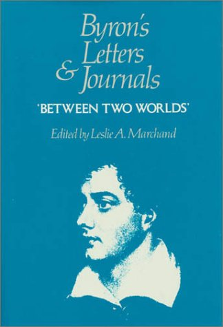 9780674089471: Letters and Journals: 1820, Between Two Worlds v. 7