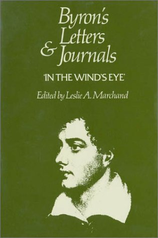 9780674089495: Byron's Letters and Journals, Volume IX: 'In the wind's eye,' 1821–1822