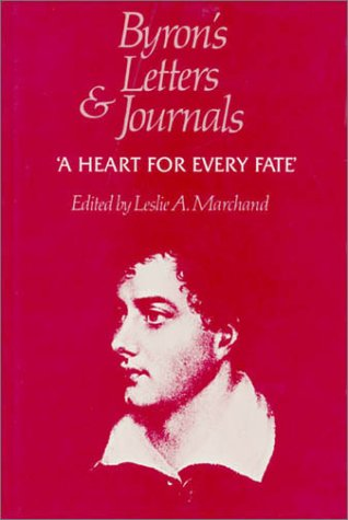 9780674089525: Byron's Letters and Journals, Volume X: 'A heart for every fate', 1822-1823