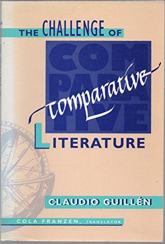 9780674106888: The Challenge of Comparative Literature (Harvard Studies in Comparative Literature)