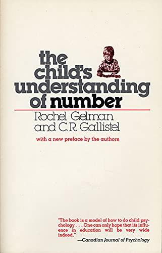The child's understanding of number: Gelman, Rochel & C.R. Gallistel.