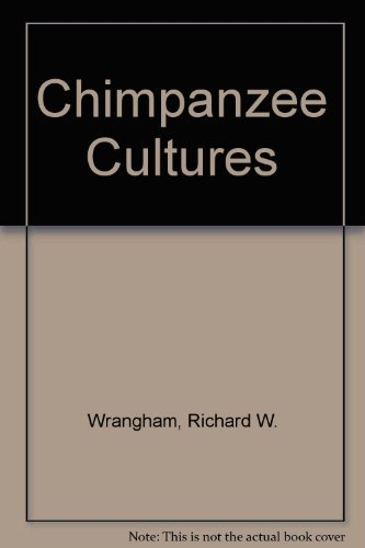 9780674116627: Chimpanzee Cultures: With a Foreword by Jane Goodall