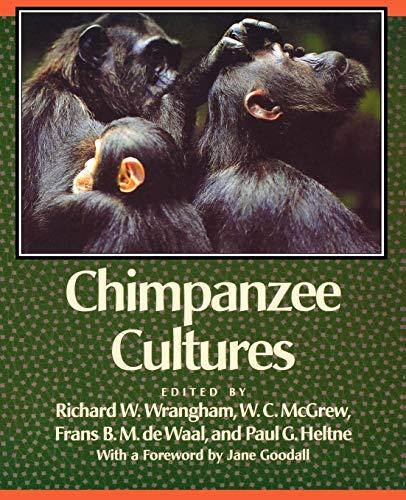 9780674116634: Chimpanzee Cultures