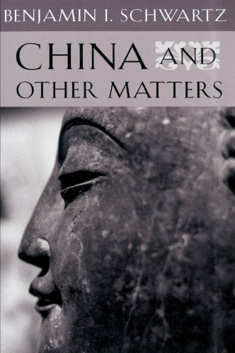 9780674118638: China and Other Matters