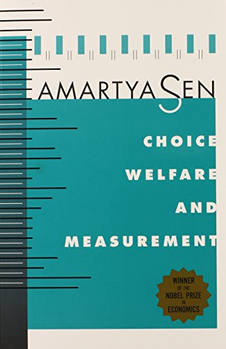 9780674127784: Choice, Welfare and Measurement