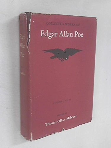 9780674139350: Collected Works of Edgar Allan Poe, Volume I: Poems