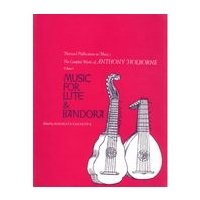 9780674155008: 001: Music for Lute and Bandora (Complete Works)