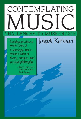 9780674166783: Contemplating Music: Challenges to Musicology