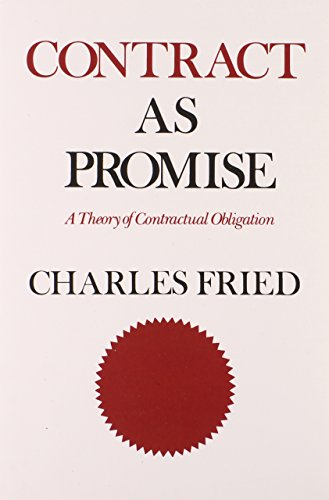 9780674169302: Contract as Promise: A Theory of Contractual Obligation