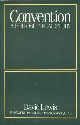 9780674170261: Lewis: Convention : A Philosophical Study (Pr Onl Y)
