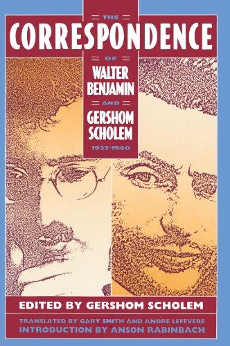 9780674174153: The Correspondence of Walter Benjamin and Gershom Scholem, 1932–1940