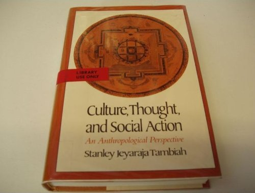 9780674179691: Culture, Thought, and Social Action: An Anthropological Perspective