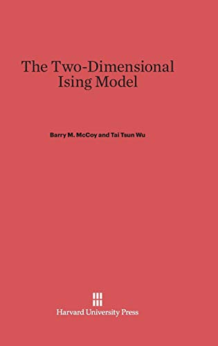 9780674180734: The Two-Dimensional Ising Model