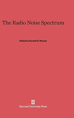 9780674180857: The Radio Noise Spectrum