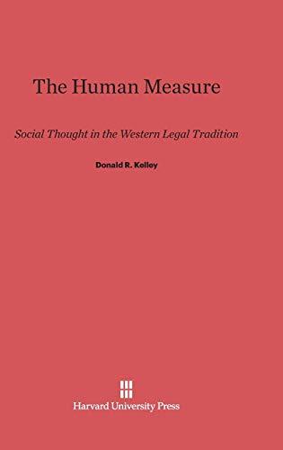 9780674181977: The Human Measure