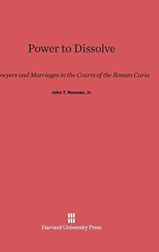 9780674183001: Power to Dissolve