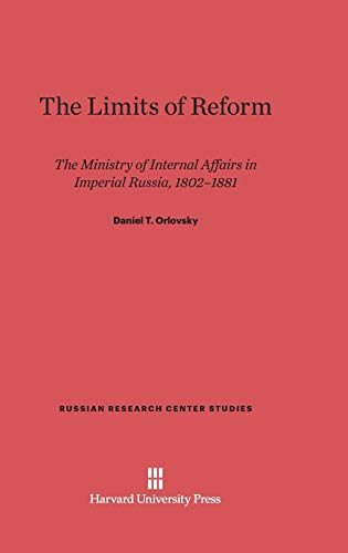 9780674183124: The Limits of Reform (Russian Research Center Studies)