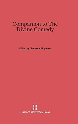 9780674184022: Companion to the Divine Comedy