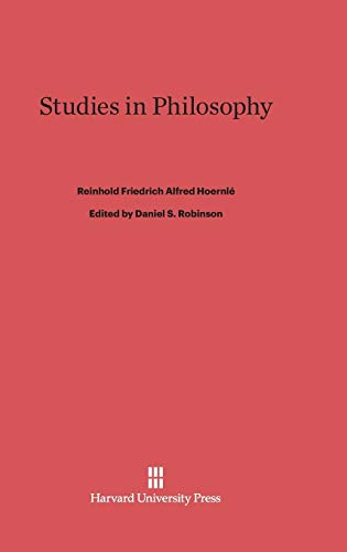 9780674184947: Studies in Philosophy