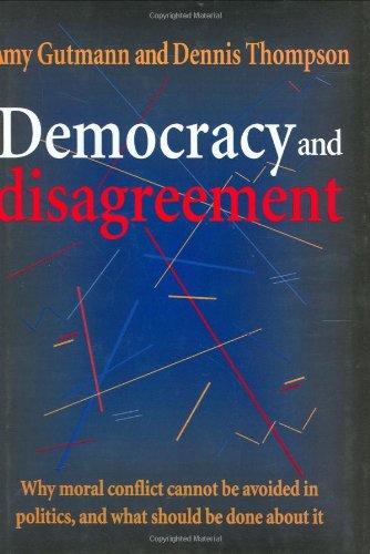 9780674197657: Democracy and Disagreement