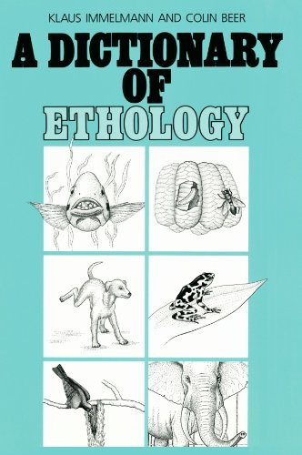 Dictionary of ethology