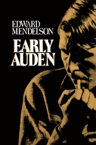 9780674219861: Early Auden