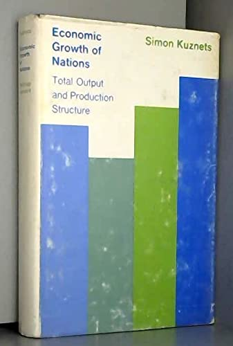 9780674227804: Economic Growth of Nations: Total Output and Production Structure