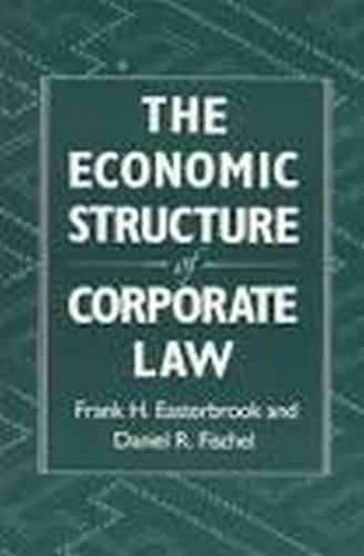 9780674235380: The Economic Structure of Corporate Law