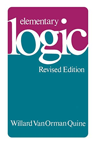 9780674244511: Elementary Logic: Revised Edition