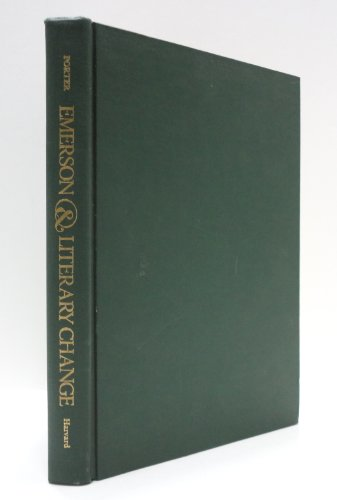 9780674248755: Emerson and Literary Change
