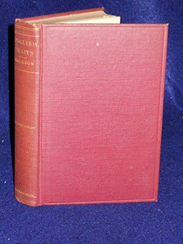 9780674257252: English Traits (John Harvard Library)