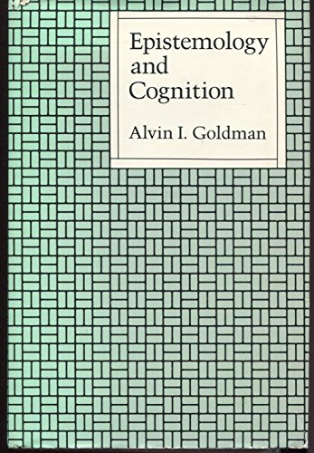 9780674258952: Epistemology and Cognition