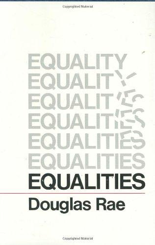 9780674259805: Equalities