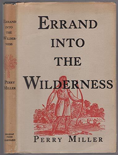 9780674261518: Errand into the Wilderness
