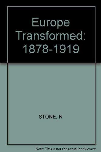 9780674269224: Europe Transformed: 1878-1919