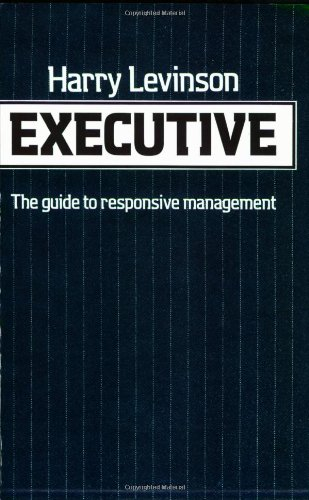 Executive (0674273966) by Harry Levinson