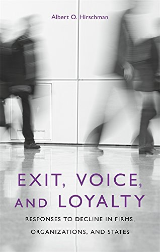 9780674276604: Exit, Voice, and Loyalty: Responses to Decline in Firms, Organizations, and States