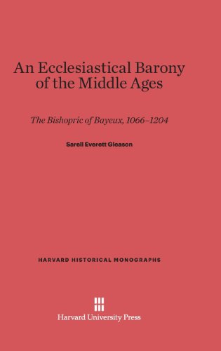 9780674281103: An Ecclesiastical Barony of the Middle Ages