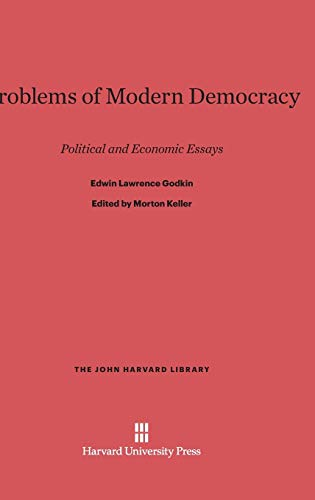 9780674281813: Problems of Modern Democracy (John Harvard Library (Hardcover))